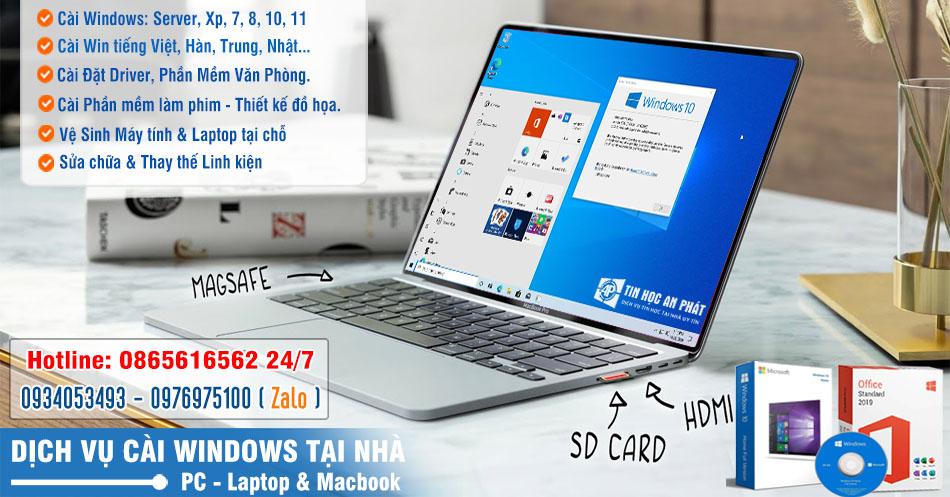 Dịch vụ Cài Win Quận Tân Bình tận nơi - Cài win tại nhà giá rẻ