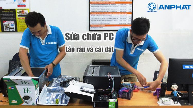 Dịch vụ Sửa máy tính tại nhà Quận Bình Tân